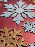 Set of 19 SnowFlakes - Creative Decor