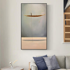 Nordic Local Fisherman Canvas Wall Art And Canvas Prints,People Art-Comfor Homes Housewre