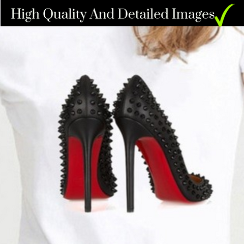 red-bottom-high-heel-with-spikes-t-shirt-comfort-homes-houseware