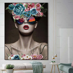 Women Wall Art Canvas Painting and People Art
