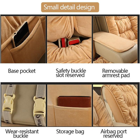 luxury-car-seat-covers-soft-plush-universal-fit-black-brown-begie-pink-by seametal