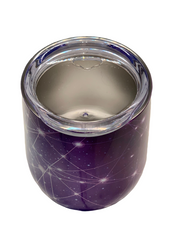 STAINLESS STEEL COFFEE CUP - PURPLE SKY