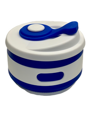 SILICONE COFFEE CUP - ELECTRIC BLUE 350ml