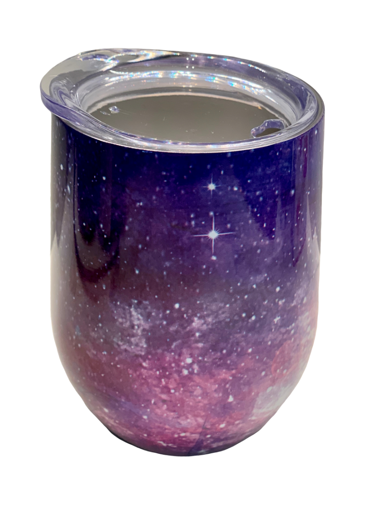 STAINLESS STEEL COFFEE CUP - STARS