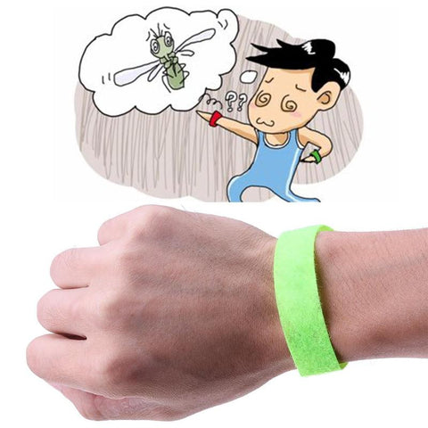 10 Pcs Mosquito Repellent Wristband
