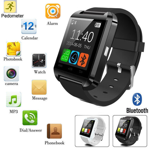 Bluetooth Smart Watch Camera