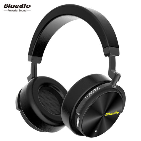 Bluedio T5 Active Noise Cancelling Headphones (Wireless Bluetooth)