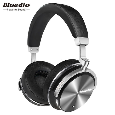 Bluedio T4S Active Noise Cancelling Headphones (Wireless Bluetooth)