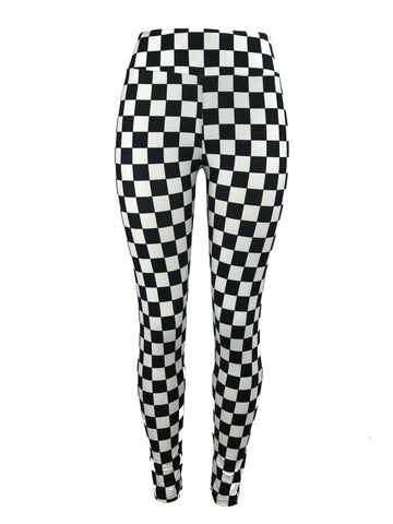 Checkered Black & White