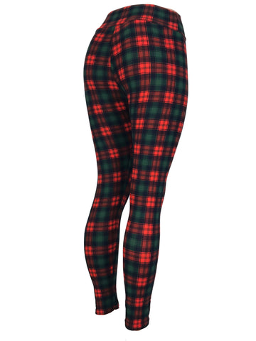 Classic Christmas Plaid Red Black Green
