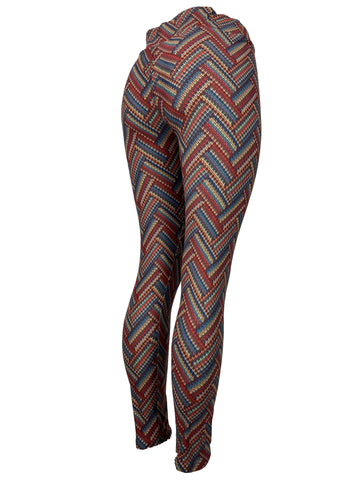 Colorful Crochet Patterned Leggings Very Unique