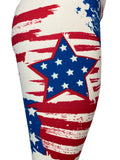 Stars & Stripes Vintage Distressed Look