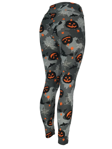 Halloween Jack O' Lanterns Spiderwebs Bats & More