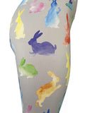 Easter Bunnies Painted In Watercolors!