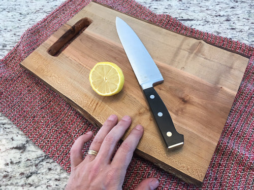 Live-Edge Maple Cutting Board (Classic)