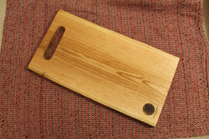 Live-Edge Oak Cutting Board (Classic)