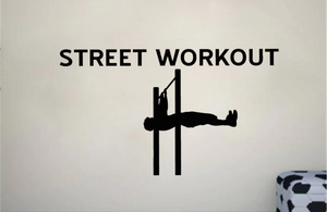 Street Workout Wall Sticker