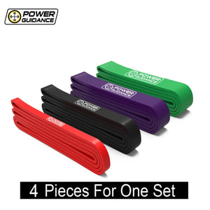 POWER GUIDANCE 4PC Heavy-Set Resistance Bands Pack