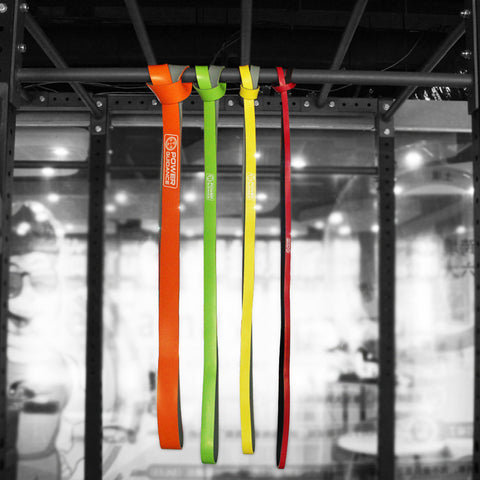 Individual Bi-Color Latex Pull Up Resistance Bands With Free Bag