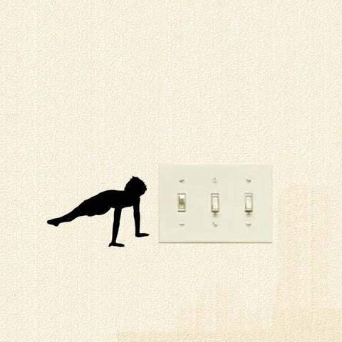 Gymnastics Mini Wall Decal