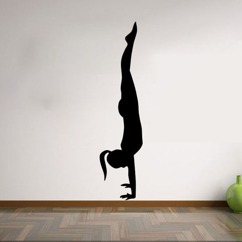 Handstand Wall Decal