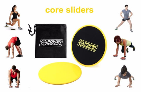 Set of 2 Core Sliders - Dual Sided Gliding Discs