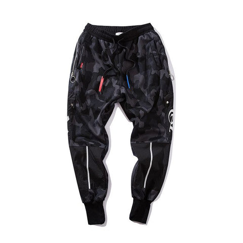 Image of Hip Hop Harem Pants Men camouflage