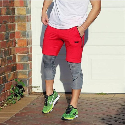 YEMEKE Men's Casual Training Shorts