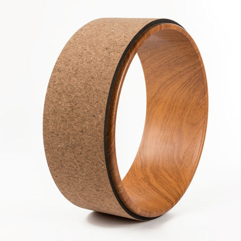 33 cm Wood Yoga Wheel