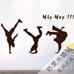 Vinyl wall stickers - Hip Hop