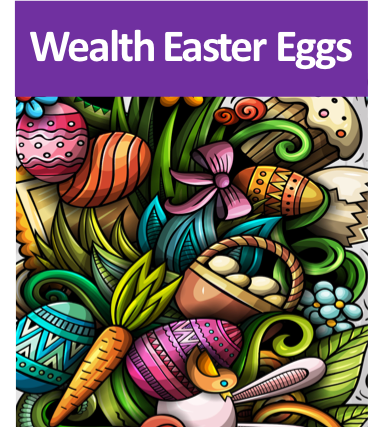 Notice Wealth Easter Eggs