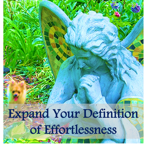 Effortlessness is like enrolling in the school of magic