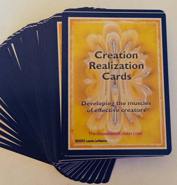 Creation Realization Cards: Developing the Muscles of Effective Creators