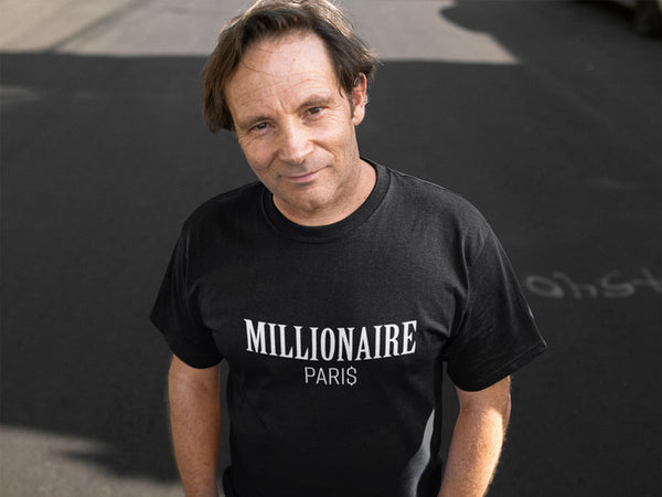 white-man-wearing-a-round-neck Millionaire Paris