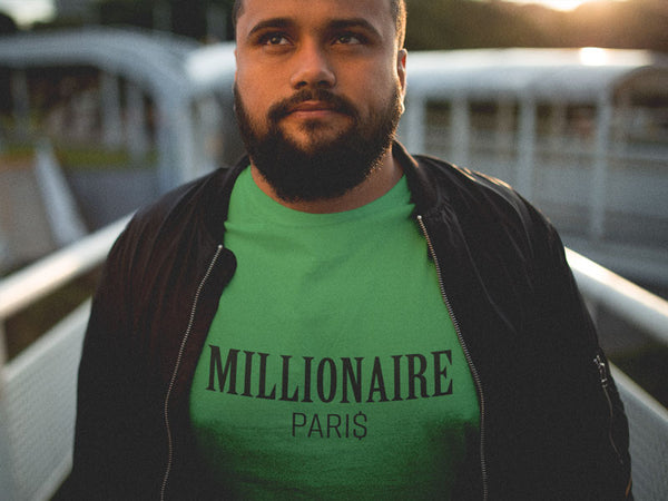 round-neck-t-shirt-mockup-featuring-a-hispanic-man-with-a-black-jacket Millionaire Paris