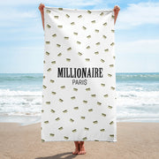 Emoji Credit Card Beach Towel - Millionaire Paris