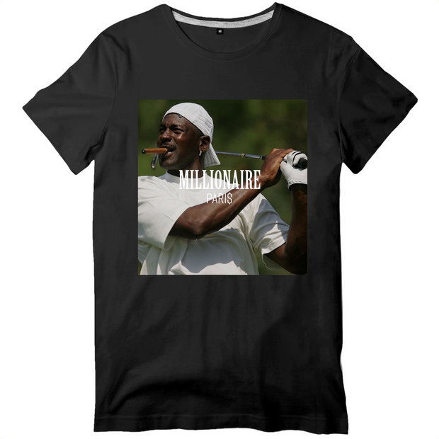 Michael Jordan Smoke a Cigar and Play Golf