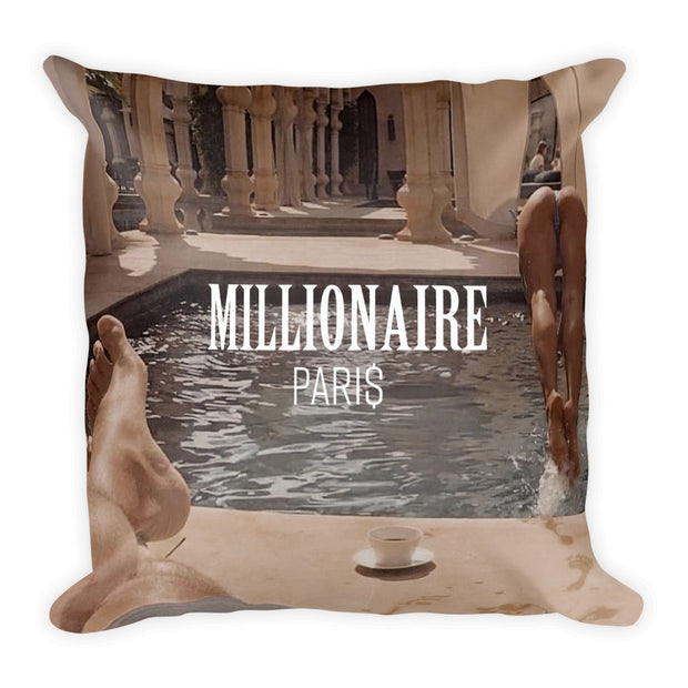 Swimming Pool Girl Coffee Pillow - Pillow - Millionaire Paris