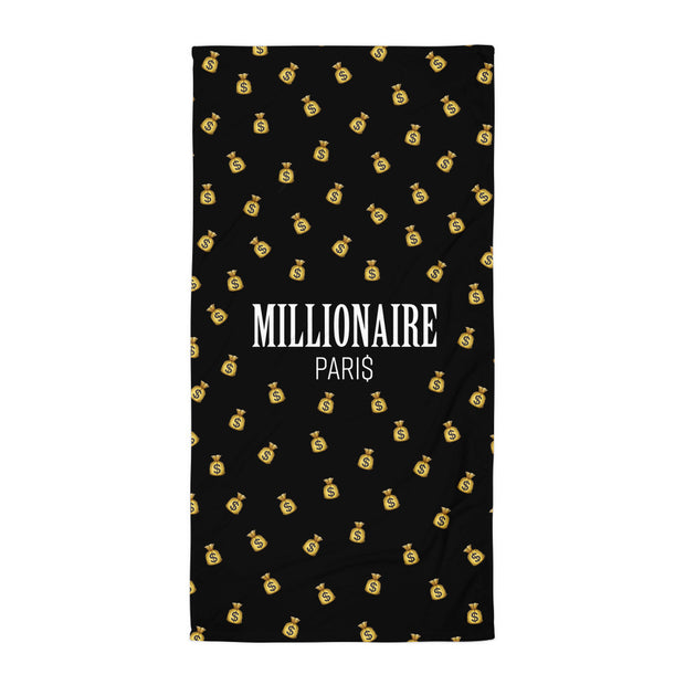 Emoji Money Bag Beach Towel - Millionaire Paris