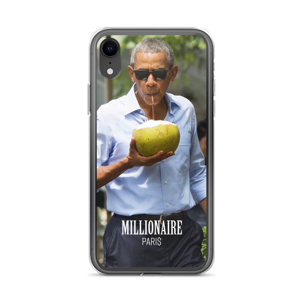 Obama eat a coconut - Millionaire Paris