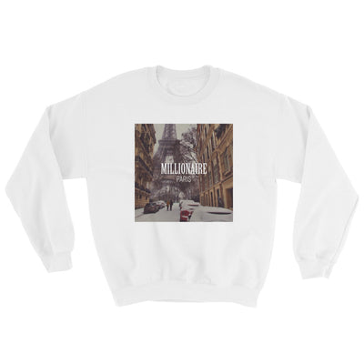 Paris Eiffel Tower Winter France - Sweatshirt - Millionaire Paris