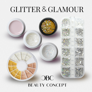 "Set "" Glitter & Glamour"" August 2020 LIMITED EDTITION"