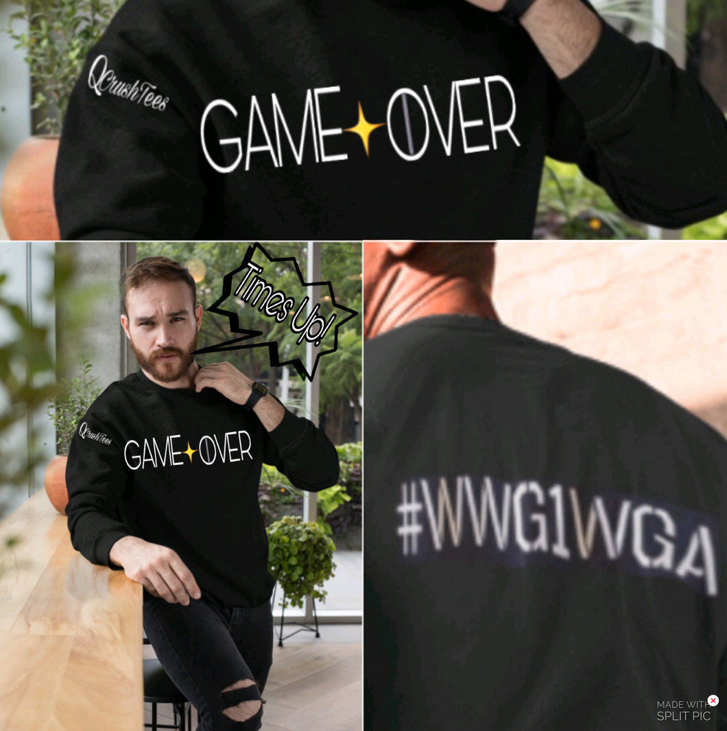 GAME OVER Long Sleve Shirt