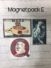 Load image into Gallery viewer, QAnon Magnet Packs.     {open for more}
