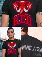 Load image into Gallery viewer, Red Elephant Vote 2020 QAnon Tee