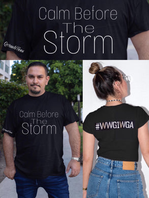 Calm Before The Storm Tee