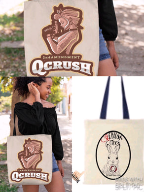 2nd Amendment Qcrush Tote Bag