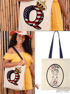 Q Crown Queen Tote Bag