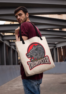 Deplorable Trumpster Wolf Tote Bag
