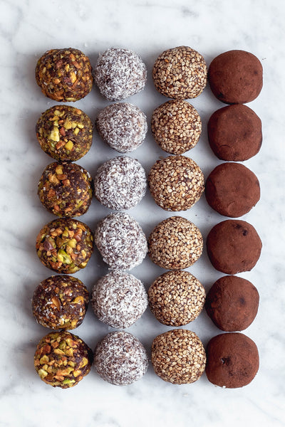 Sweet Seasalt bliss balls